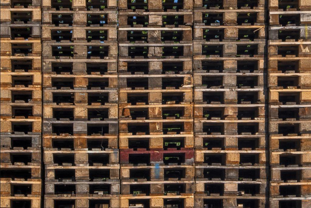 cuántas cajas caben en un europalet